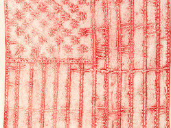 Flag-Print-Red