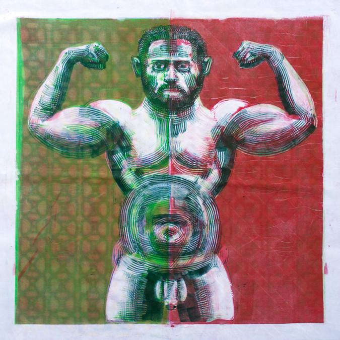 The Strong Man 1 (verso)