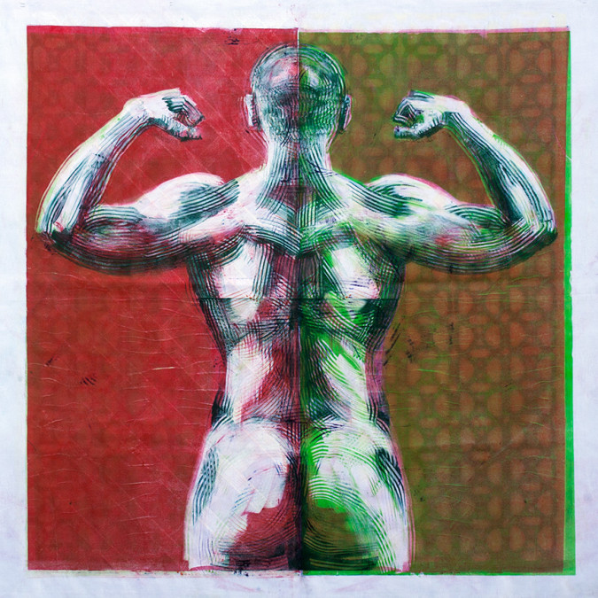 The Strong Man 2 (verso)